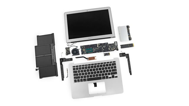 Ремонт MacBook Air A1304